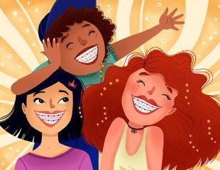 ارتودنسی دندان -ارتودنسی رنگی - رنگ ارتودنسی دندان